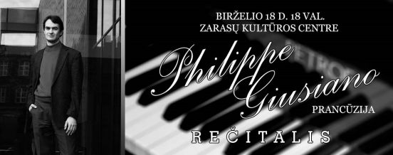 Philippe Giusiano (France) recital