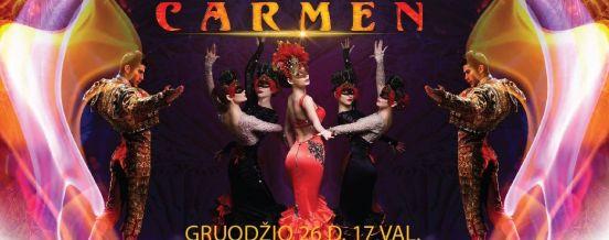 """Miuziklas ,,Baltican Carmen Show"""""""