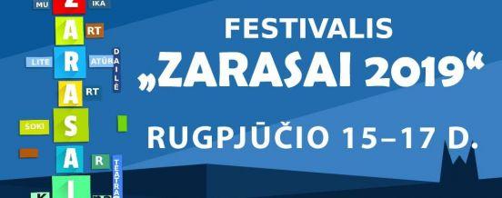 """RUGPJŪČIO 15 – 17 D. TARPTAUTINIS FOLKLORO FESTIVALIS """"ŽOLYNAI"""" IR MENŲ FESTIVALIS - """"ZARASAI 2019"""" - MIESTO ŠVENTĖ SĖLIŲ AIKŠTĖJE, STELMUŽĖJE"""