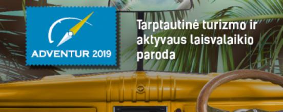 """Kviečiame aplankyti Zarasų krašto stendą didžiausioje Lietuvoje turizmo parodoje ,,Adventur"""""""