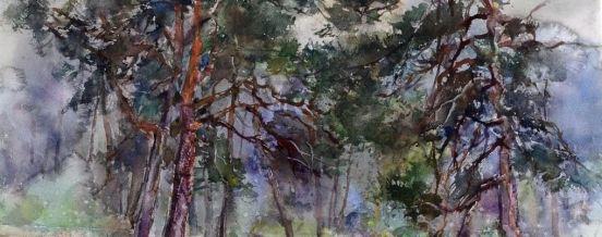 Выставка Альвидаса Стаускаса ''Ностальгия по пейзажу'