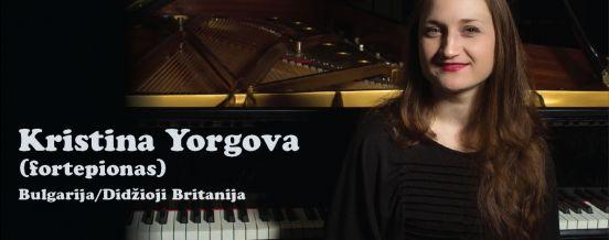 Kristina Yorgova (fortepionas) Kultūros centre Dusetų dailės galerijoje