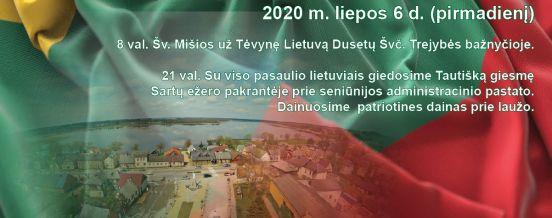Valstybės diena Dusetose