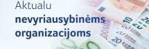Skiriamas papildomas 1 mln. eurų nevyriausybinėms organizacijoms, teikiančioms socialines paslaugas pandemijos metu