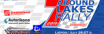 """Around seven lakes rally"", liepos 26-27 d."