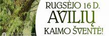 Rugsėjo 16 d. kviečiame į Avilių kaimo šventę!