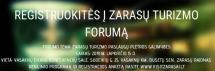 Skelbiama registracija į Zarasų turizmo forumą