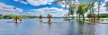 Zarasai kviečia – įspūdingų skulptūrų parkas ant vandens
