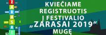 """Kviečiame registruotis į festivalio """"Zarasai 2019"""" mugę"""