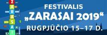 """FESTIVALIO ,,ZARASAI 2019"""" programa, rugpjūčio 15 - 17 d. Sėlių aikštė, Zarasai"""