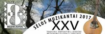 """XXV-asis  Tarptautinis tradicinis liaudiško muzikavimo festivalis  ,,Sėlos muzikantai"""""""