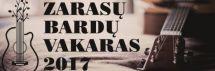 Liepos 20 dienos vakare Zarasų Sėlių aikštėje skambės bardų dainos