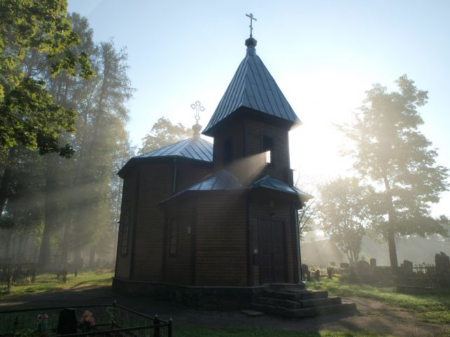 All Saints Orthodox church in Zarasai