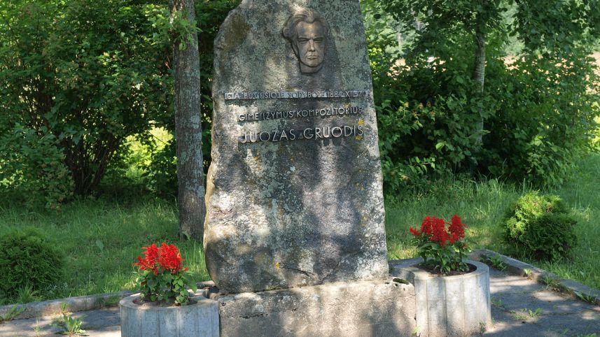 Kompozitoriaus Juozo Gruodžio gimtinės vieta