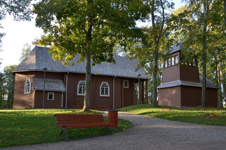Стелмужский музей церковного искусства в костеле Креста Господа Иисуса Христа