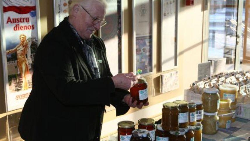 Organic beekeeping farm of Janina Milašienė