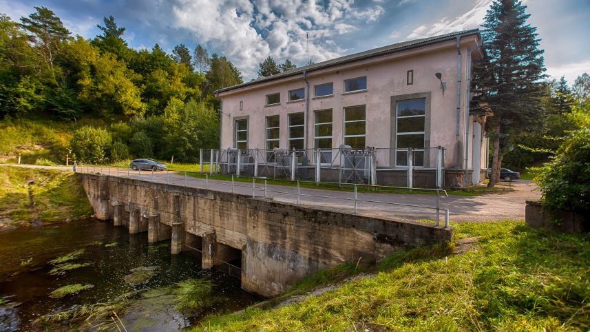 Antalieptė hydroelectric power plant