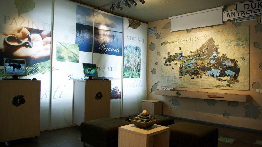 Центр посетителей регионального парка Гражутес