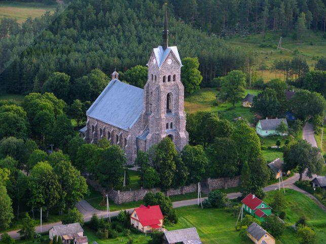 Костел Пресвятой Девы Марии Великомученицы