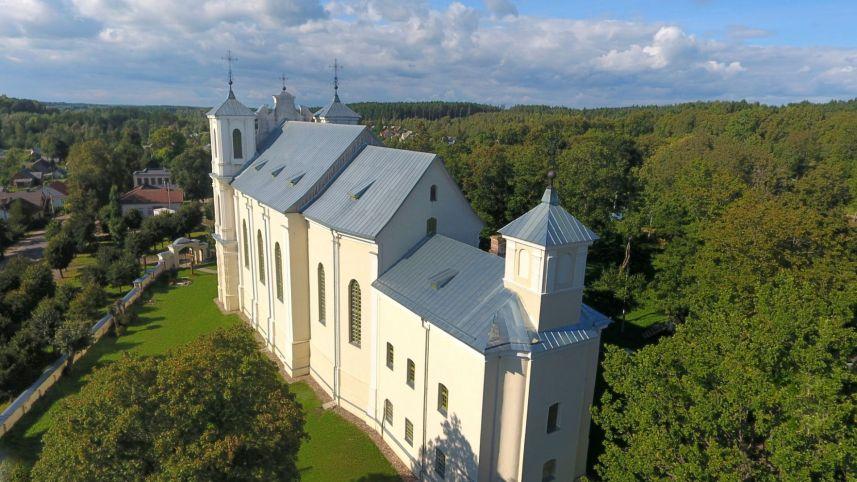 Antalieptė monastery complex
