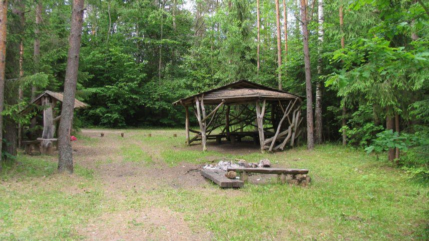 Antalieptė campsite
