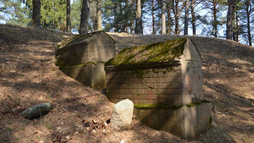 Dusetos old Jewish cemetery
