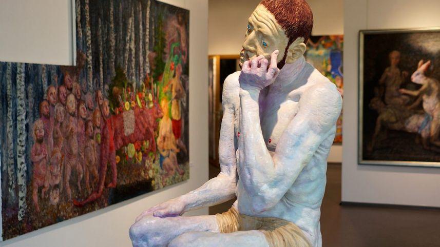 Kultūros centras Dusetų dailės galerija