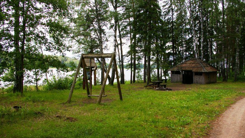 Kalbutiškis I campsite