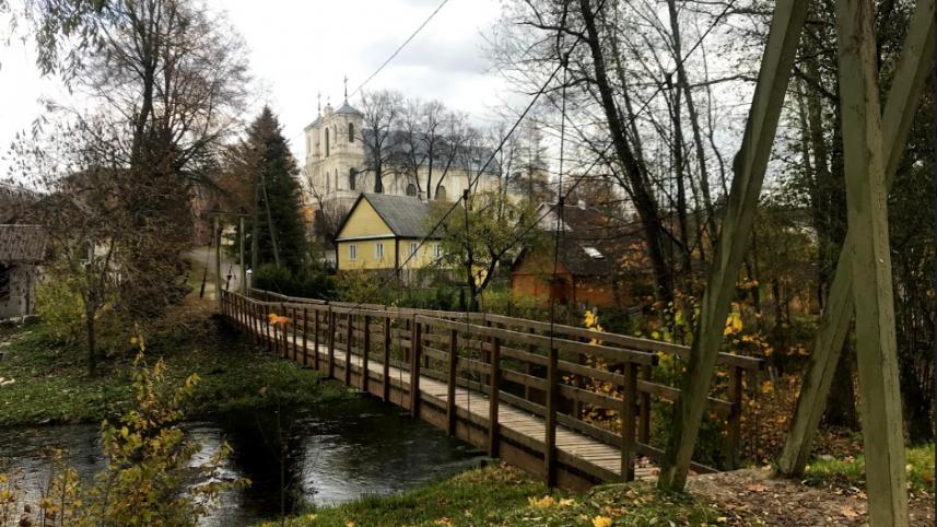 Antalieptės kabantis tiltas