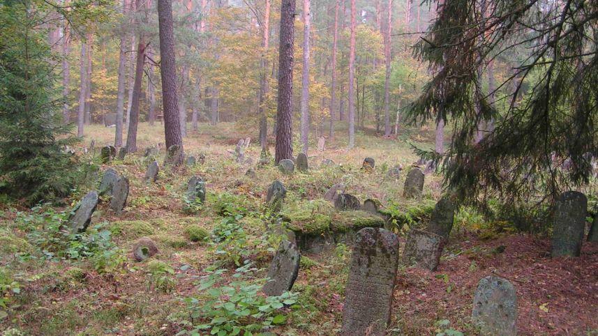 Salakas old Jewish cemetery