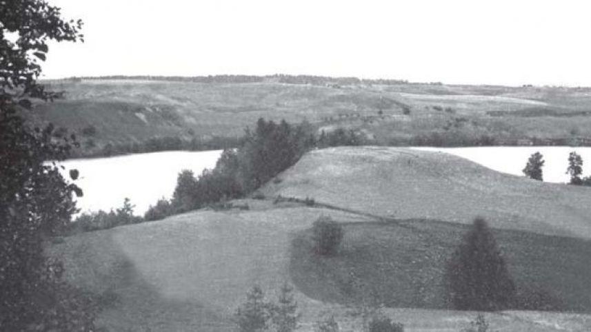Velikuškių piliakalnis su gyvenviete