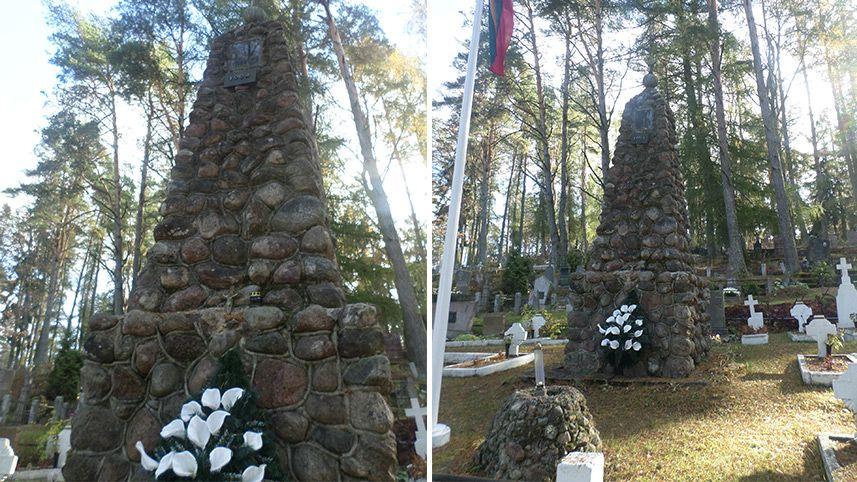 Nepriklausomybės paminklas Zarasuose