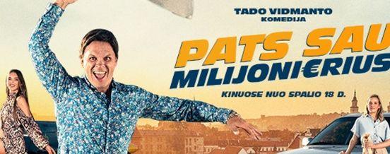 """18 VAL. FILMAS """"PATS SAU MILIJONIERIUS"""", DUSETŲ DAILĖS GALERIJOJE"""