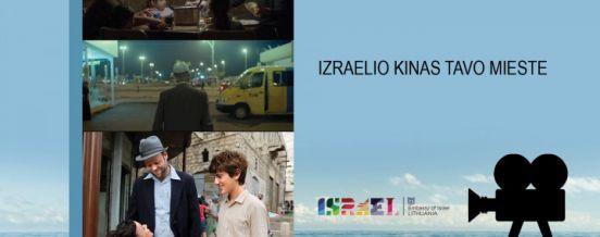 """17 VAL. IZRAELIO KINO VAKARAS """"RAUDONI LAPAI"""", ZARASŲ VIEŠOJI BIBLIOTEKA"""